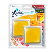 GLADE SENSATIONS R. TWIN PACK 8G